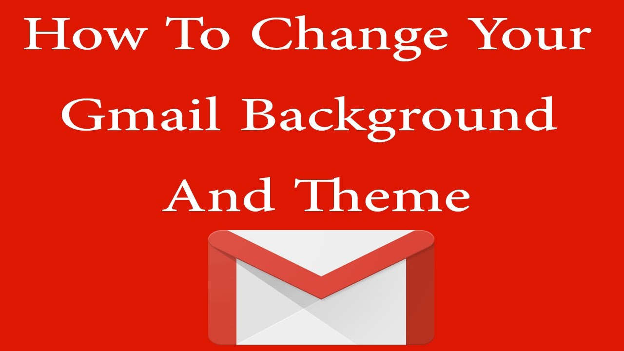 Gmail theme font - How To Change Gmail Theme Or Background In Urdu Hindi