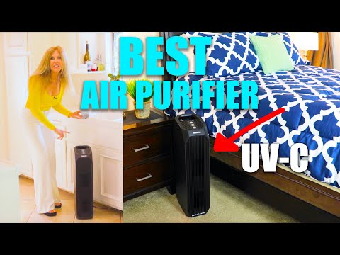 Air Purifier Review 2020 | BEST | Toshiba Air Purifier UV-C Feature for VIRUS and SMOKE