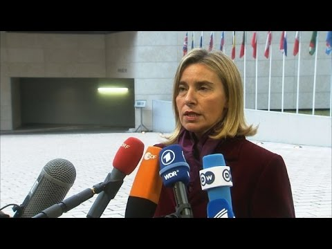 EU not considering Russia sanctions over Syria