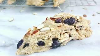 Blueberry Almond Scones Recipe