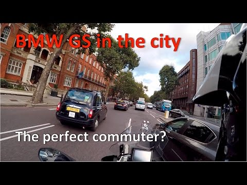 BMW GS - is it any good as a city bike!