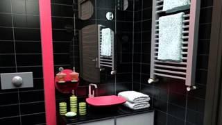 Черная ванная комната  важные моменты оформления темного интерьера
