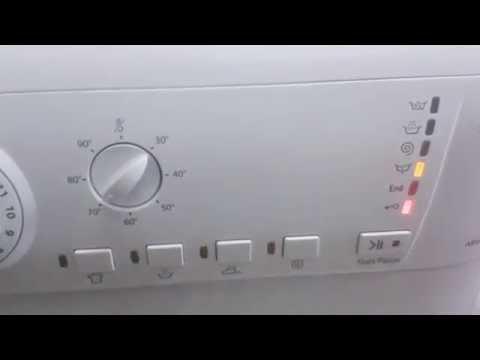 Indesit Washing Machine Flashing Lights Doovi