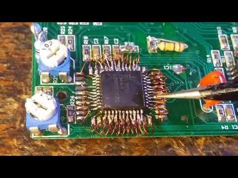 Ремонт мультиметра DT-838