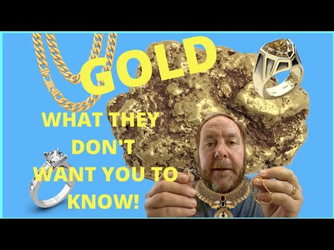 GOLD - What Pawn Shops \u0026 Jewelry Stores DON'T Want You To Know! | REAL WORTH \u0026 VALUE