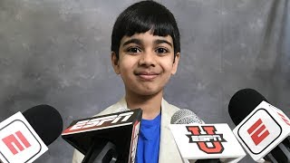 Gambar cover Akash Vukoti on ESPN at the 2019 Scripps National Spelling Bee