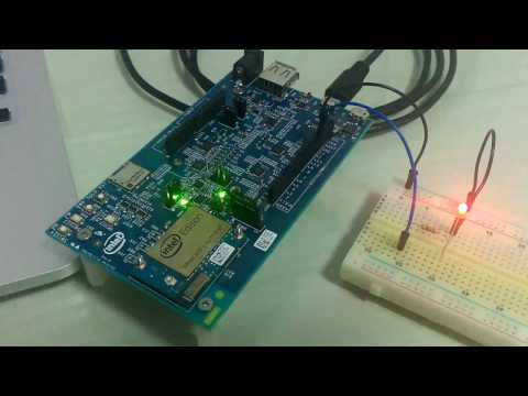 Blink An Led With Android Things And Intel Edison