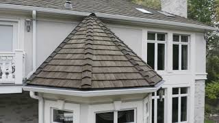 CeDUR Synthetic Shake - Long Grove, installed by CRC Cedar Roofing Company