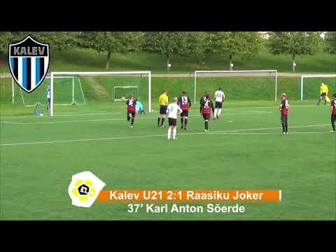 Esiliiga B XXXIII voor: JK Tallinna Kalev U21 5:1 Raasiku FC Joker