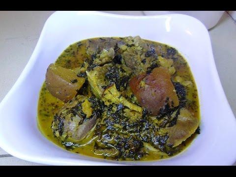 How To Make Nigeria Bitterleaf soup (ofe onugbu)