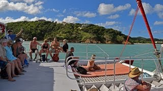 Antigua - Catamaran Party (Royal Princess Excursion)