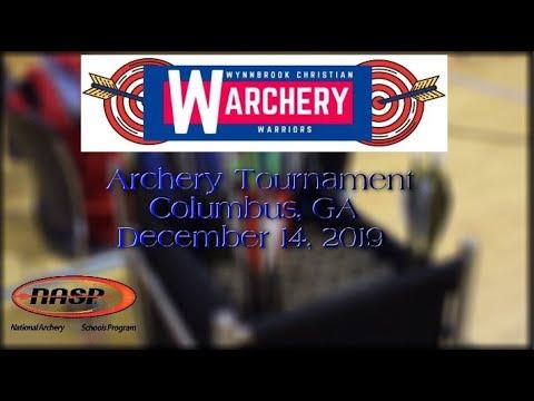 Wynnbrook Christian School Archery Tournament, NASP, Dec 14, 2019