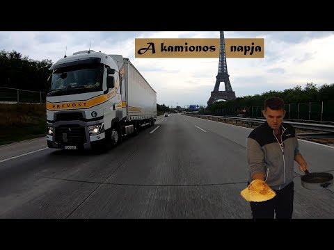 Prevost A kamionos 1 napja