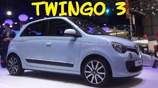 RENAULT TWINGO 3 - NEW CAR - SALON AUTO GENEVE 2014