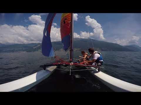 hobbie cat 16 Lago di Como