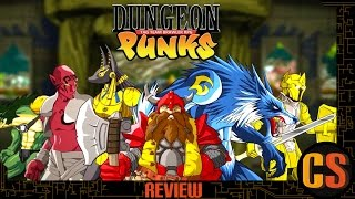 DUNGEON PUNKS - PS4 REVIEW (Video Game Video Review)