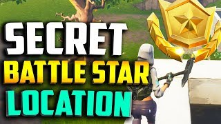 "ÉTOILE DE BATAILLE CACHÉE SECRÈTE ! ""Quiet on the set fortnite"" Semaine 1 Blockbuster Challenge Emplacement"