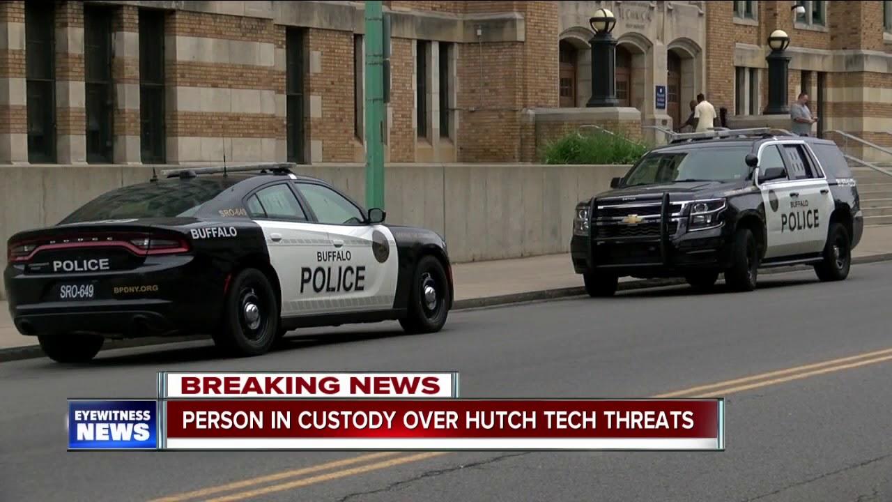 Buffalo Police Investigating Threat At Hutch Tech High School