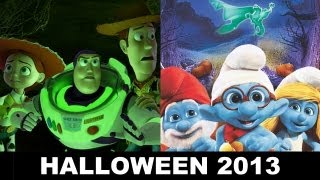 Toy Story of Terror on ABC vs The Legend of Smurfy Hollow DVD - Beyond The Trailer
