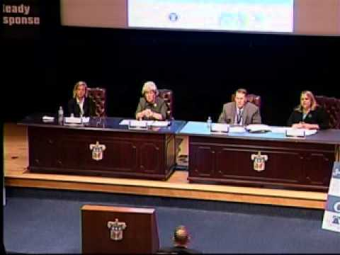 Homeland Defense--National Preparedness Framework panel