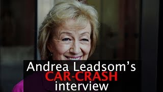 Andrea Leadsom's car-crash interview on Radio 4
