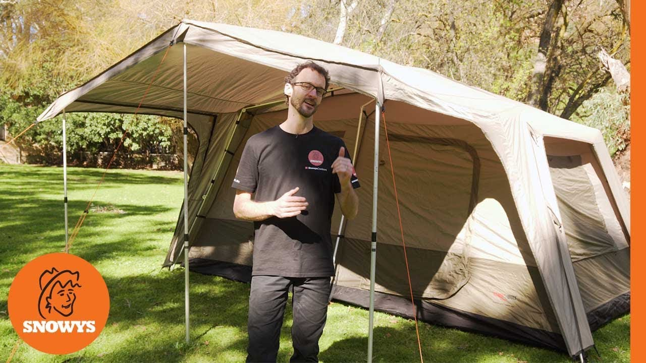 Black Wolf Turbo Lite Cabin 450 Tent How To Setup Pack Away Youtube