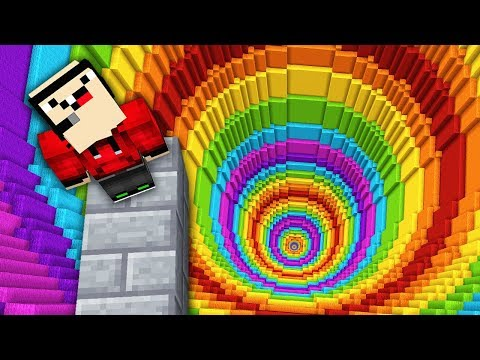 impossible-minecraft-rainbow-dropper!
