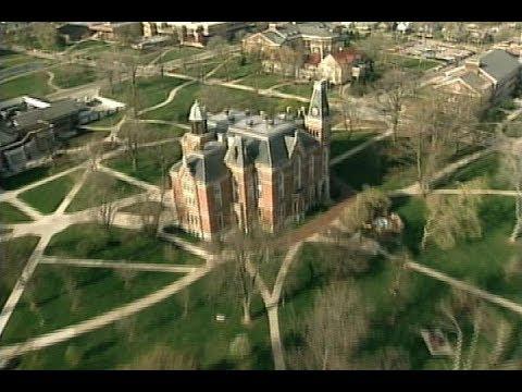 Circa 2000 Aerial Video Of The Depauw University Campus Youtube