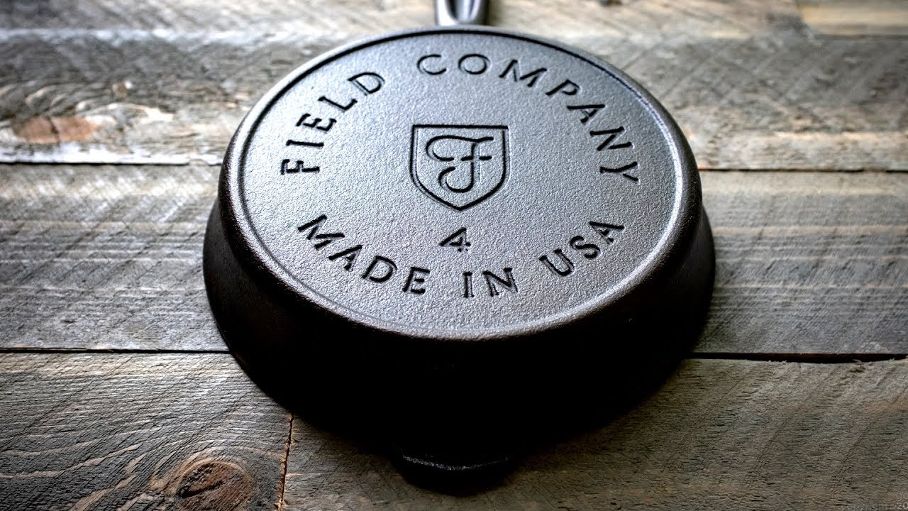 The Field Company No. 4 Cast Iron Skillet