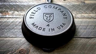 The Field Company No. 4 Cast Iron Skillet
