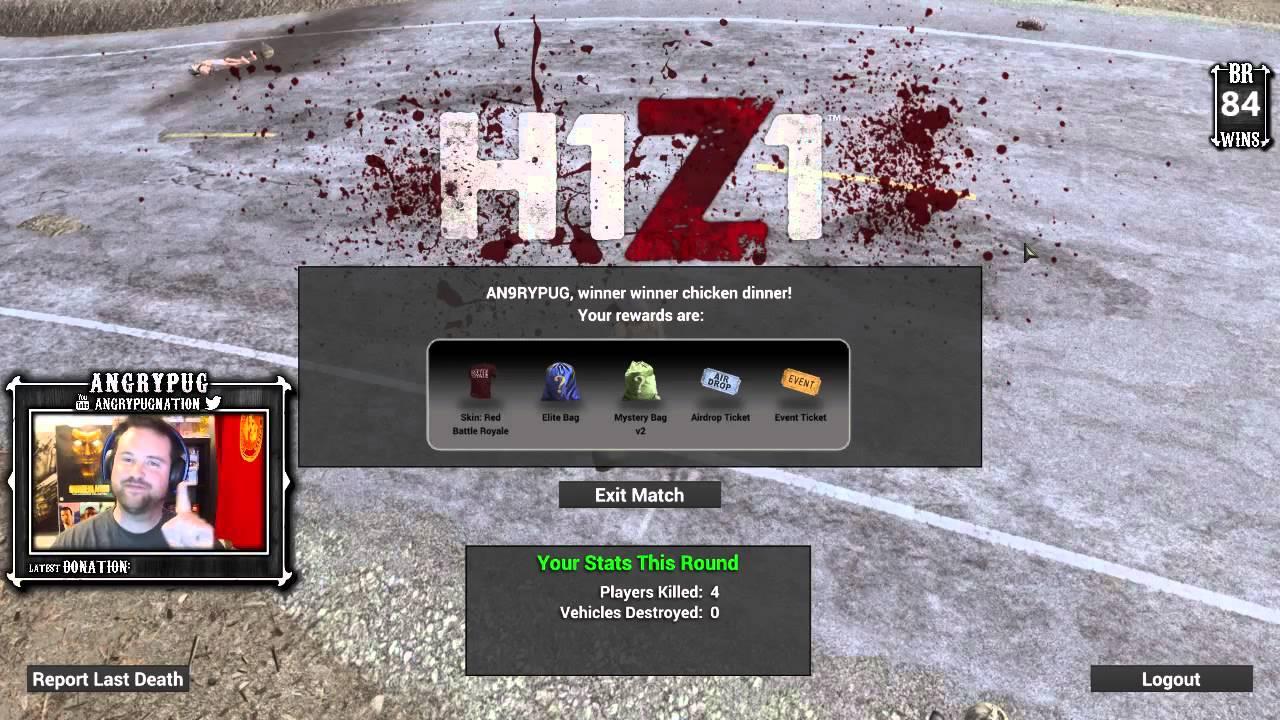 h1z1 ranks