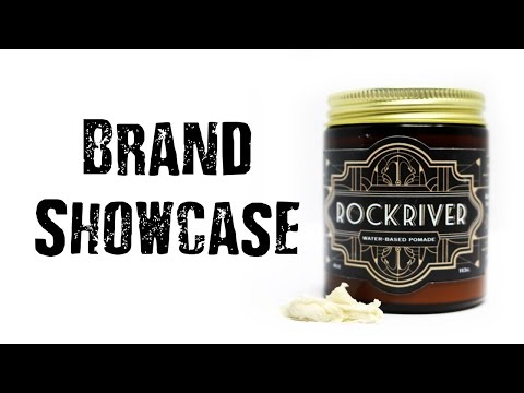 Men's hair I Rockriver Hair Supply Showcase I Pomade styling demo