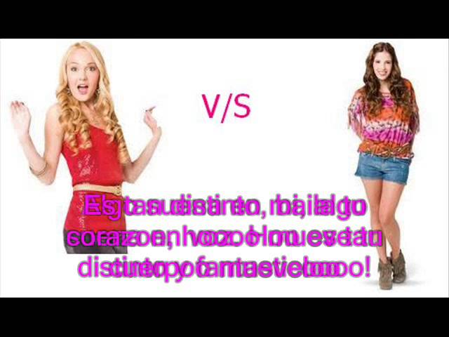 Violetta - Ludmila v/s Camila. Travel Video
