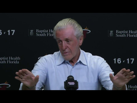 April 19, 2017 - heat.com (2of4) - Miami Heat's Pat Riley End of Season Press Conference