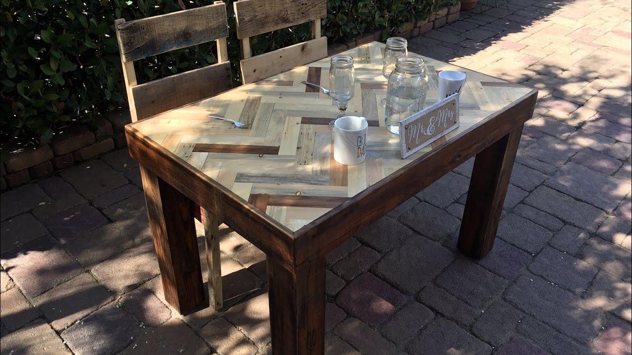 Industriel Table Basse Palette pallet wood table