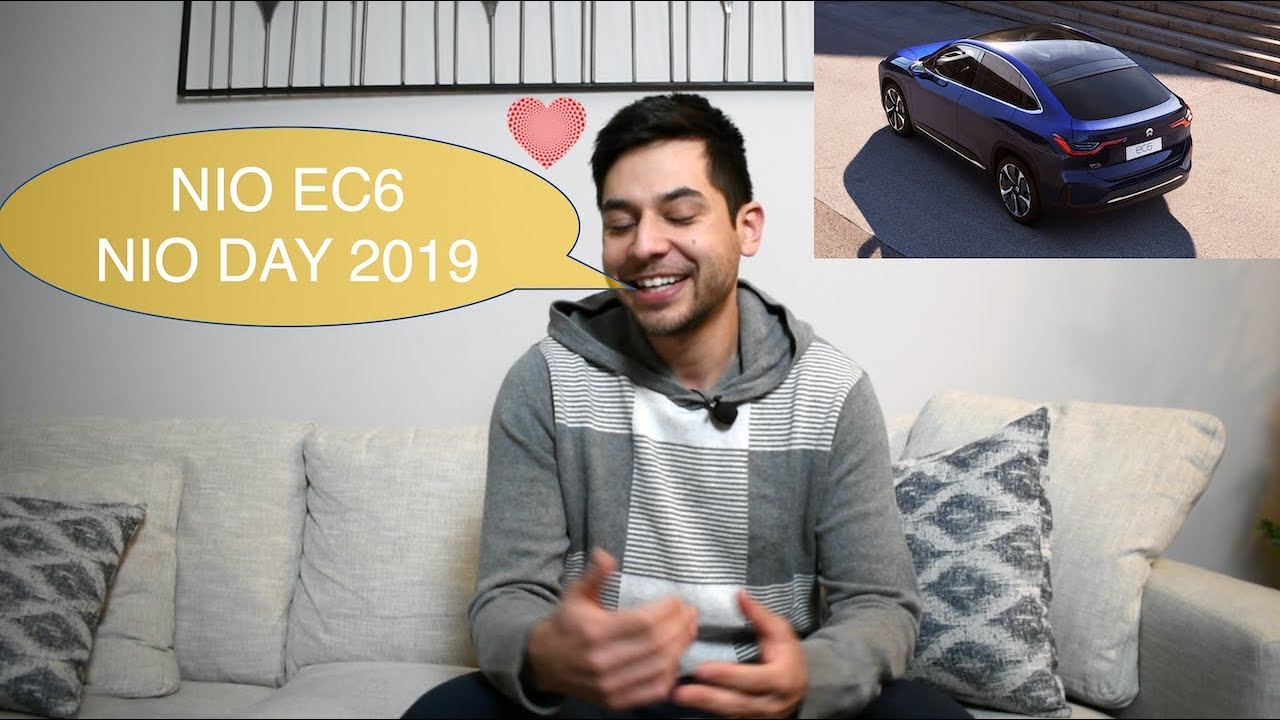 Nio Ec6 At Nio Day 2019 Nio Stock Youtube