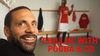 Chillin' with Pogba & Co | Rio Vlogs