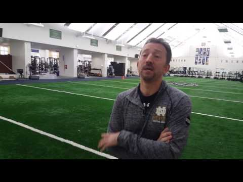 Notre Dame's Strength & Conditioning Facilities