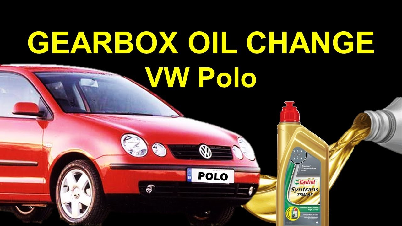 Vw Polo Gearbox Oil Change Transmission Fluid Change