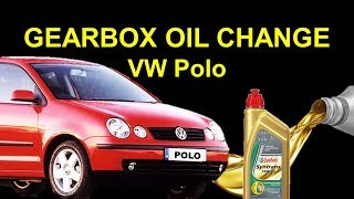 VW Polo Gearbox oil change - transmission fluid change