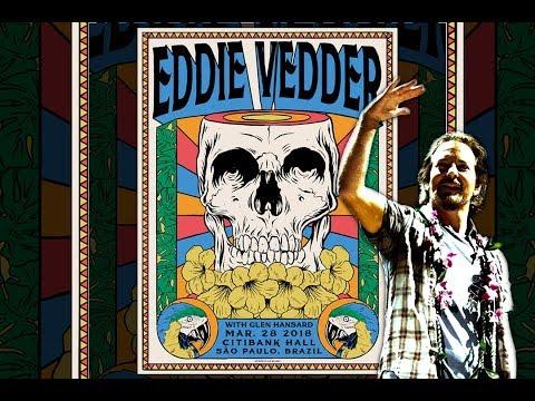 Eddie Vedder  - 28/03/2018 - São Paulo, Brazil @Citibank Hall (FULL SHOW)