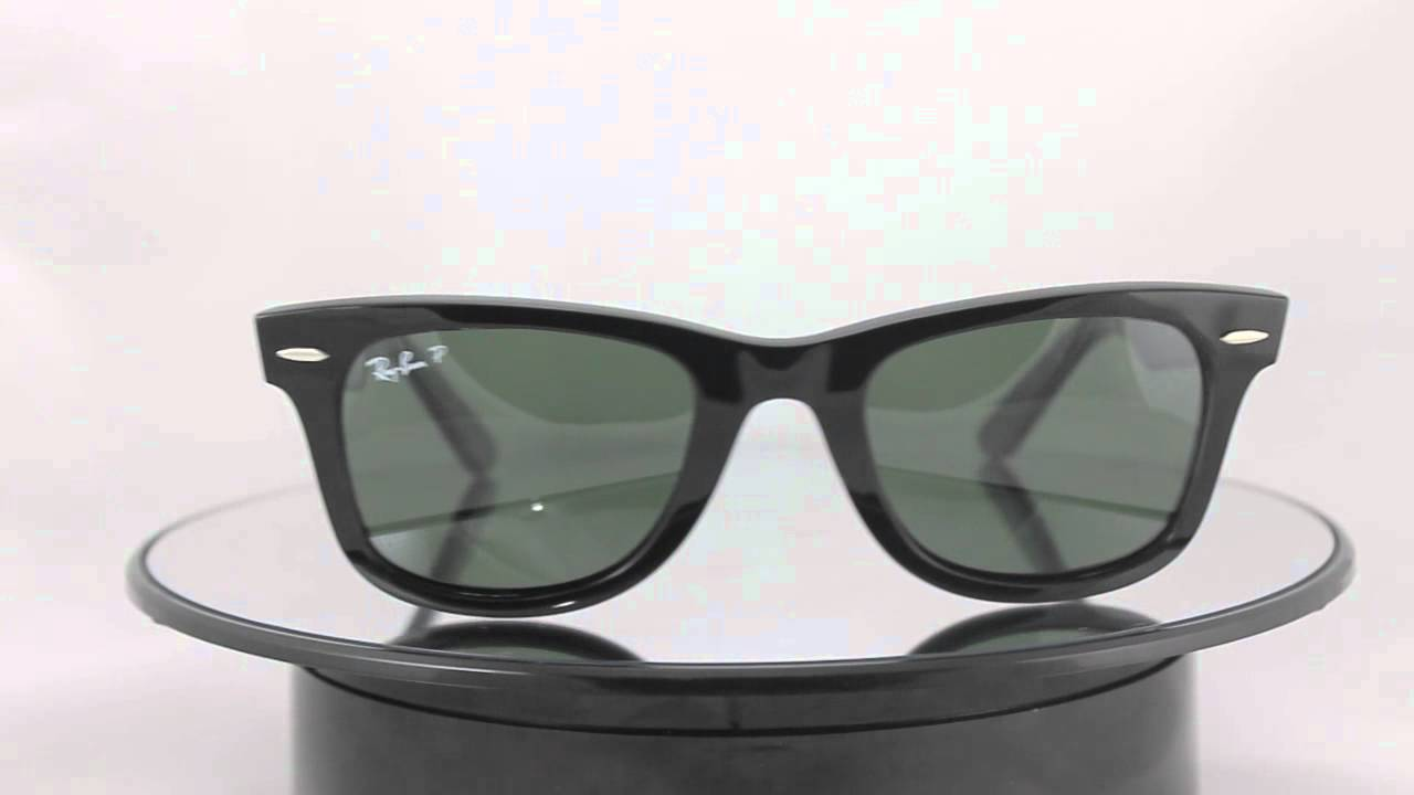957385d2cd Ray-Ban RB2140 901 58 Original Wayfarer - YouTube