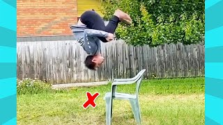 Try not To Laugh: Funny Landing Fails When Somersault | Funny Videos