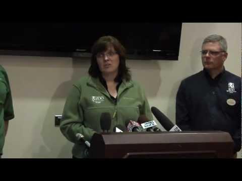 Oregon Zoo Media Conference regarding baby elephant