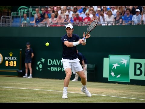 Highlights: Andy Murray (GBR) v Gilles Simon (FRA)