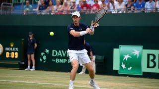 Highlights: Andy Murray (GBR) v Gilles Simon (FRA)