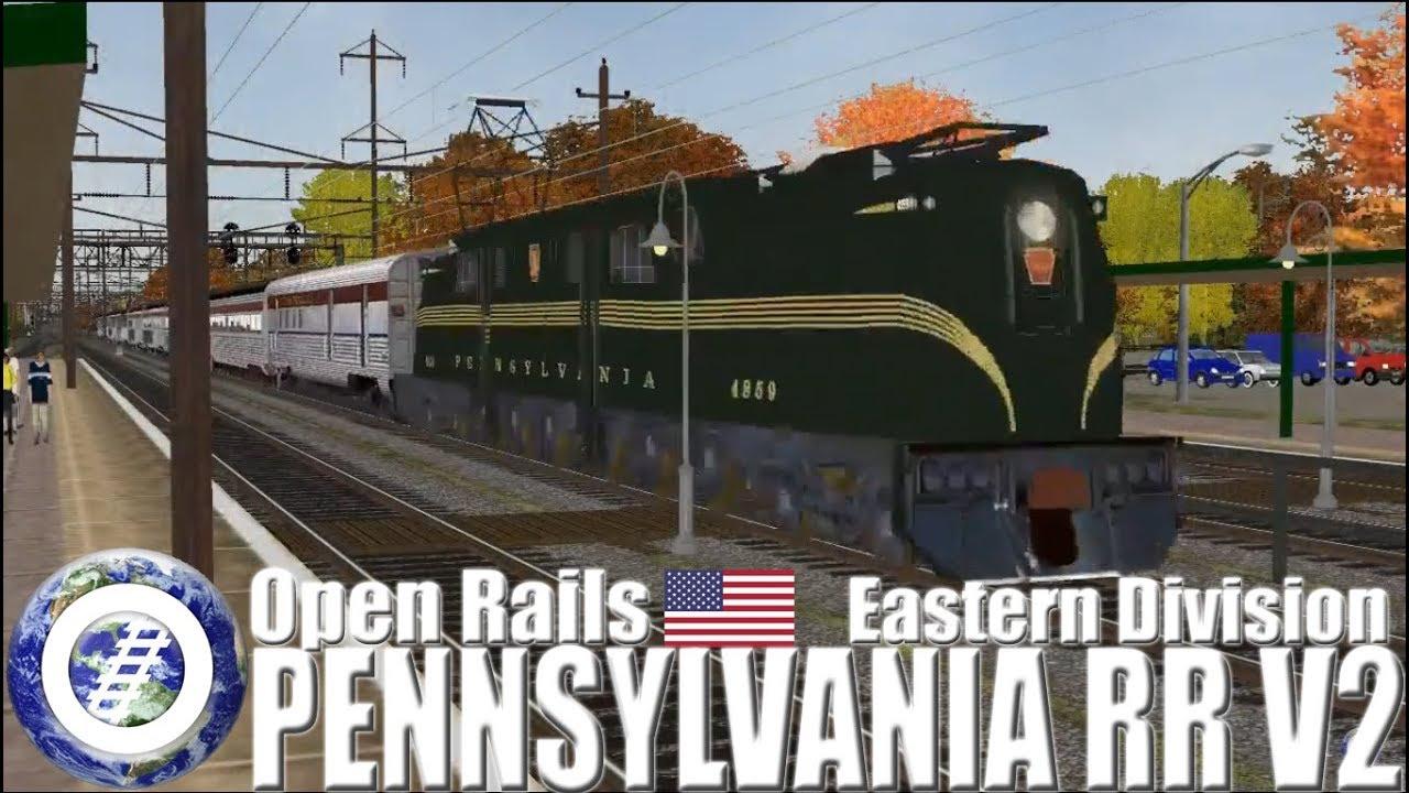 Open Rails USA PRR V2 - Pennsylvania Railroad Eastern Division