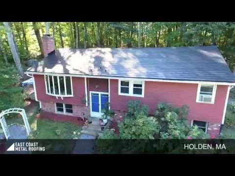 Holden, MA - Black Metal Roof