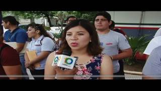 Cientos de jóvenes acuden a la convocatoria de la Policía Federal