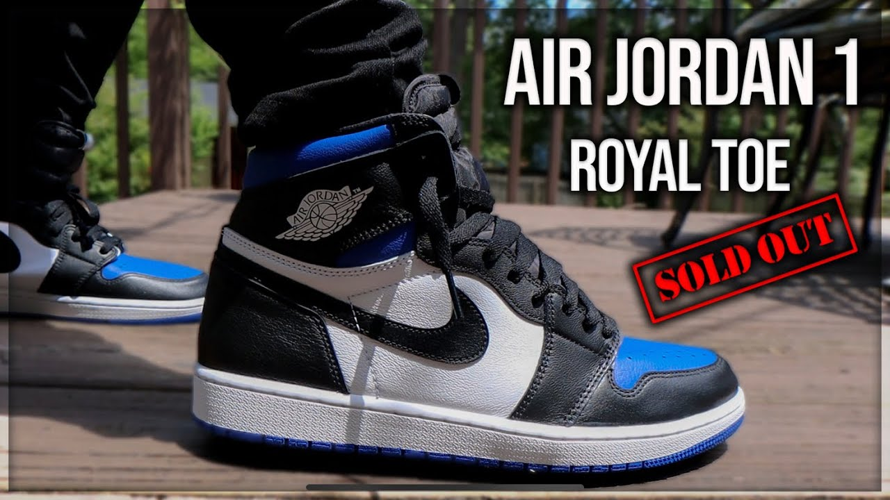 Air Jordan 1 Royal Toe Review And On Foot These Will Sell Out Youtube